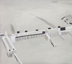 Gezhouba Dam 葛洲坝 by Mou Huan contemporary artwork