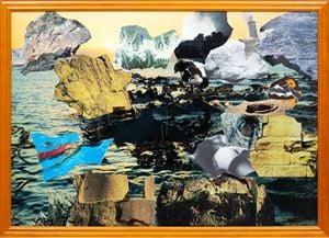 Rocks Near the Sea by Michael Taylor contemporary artwork