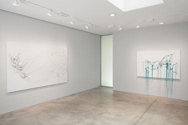 Exhibition view: Nicholas Hlobo, Ulwamkelo, Lehmann Maupin, 536 West 22nd Street, New York (12 July–24 August 2018).Courtesy Lehmann Maupin.
