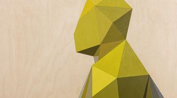 Contemporary art exhibition, Xavier Veilhan, Chemin Vert at Perrotin, Tokyo, Japan