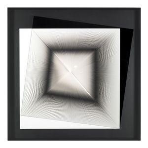 Dinamica Instabile B e N by Alberto Biasi contemporary artwork
