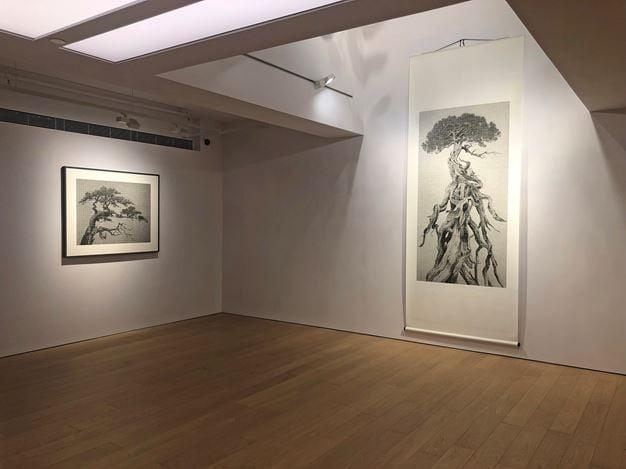 Exhibition view: Lee Chun-yi, Enriching Steles: Ink Art by Lee Chun-yi 豐碑:李君毅的水墨藝術,Alisan Fine Arts, Central, Hong Kong (14 November 2019–9 January 2020). Courtesy Alisan Fine Arts.