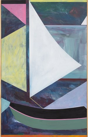 Sailing Dinghy by Simon Blau contemporary artwork