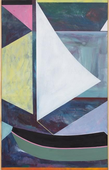 Sailing Dinghy by Simon Blau contemporary artwork