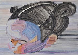 Rainbow 2020-129 by Etsu Egami contemporary artwork