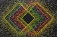 Alchimie 394 by Julio Le Parc contemporary artwork painting