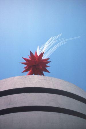 Brussels Flower by Otto Piene contemporary artwork sculpture