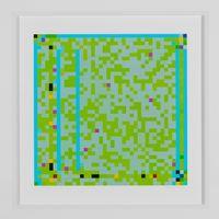 Jazz Junction #16/9 by Robert Owen contemporary artwork print