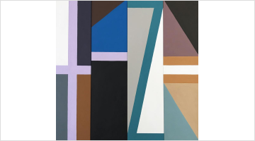Contemporary art exhibition, Louise Tuckwell, ABSTRAKTIV at Gallery 9, Sydney