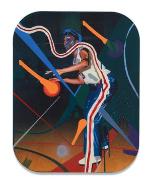 Karen Gibson (Dillard University) by Ashley Teamer contemporary artwork