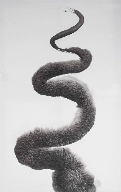 Ride the Snake by Rubén Fuentes contemporary artwork