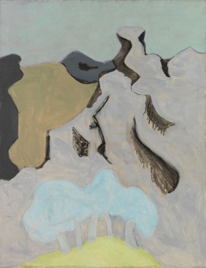French Landscape by Milton Avery contemporary artwork