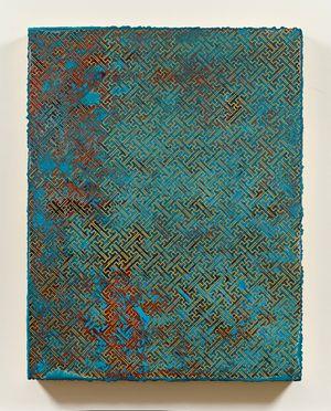 卍  Cloisonné Exercise by Su Meng-Hung contemporary artwork painting