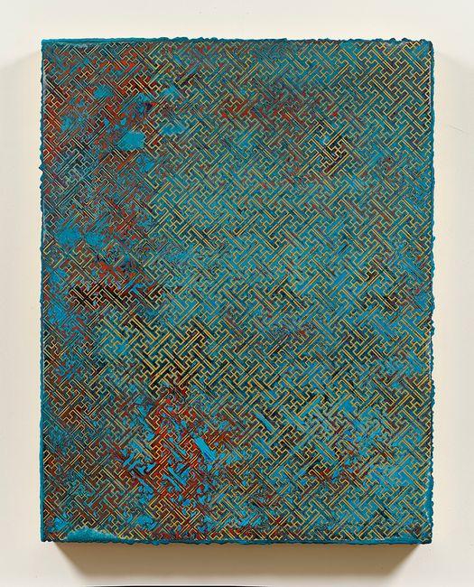 卍  Cloisonné Exercise by Su Meng-Hung contemporary artwork