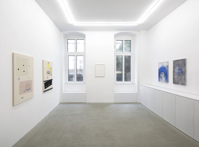 Exhibition view: Group Exhibition, Sofia Silva | Sarah Loibl, Rolando Anselmi, Berlin (19 March–28 April 2021). Courtesy Rolando Anselmi. Photo:Riccardo Malberti.
