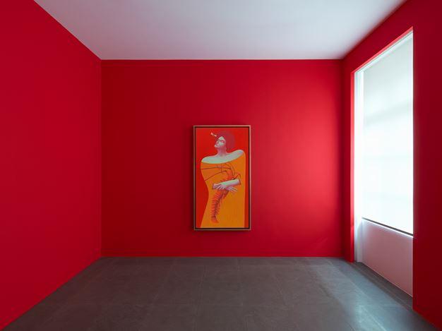Exhibition view: Nicolas Party, Grotto, Xavier Hufkens, 6 rue St-Georges, Brussels (15 November–14 December 2019).Courtesy the Artist and Xavier Hufkens, Brussels. Photo:Allard Bovenberg.