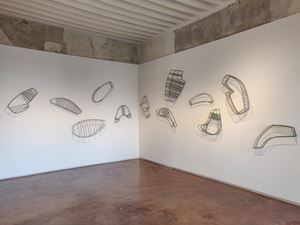 Following You by Manisha Parekh contemporary artwork sculpture