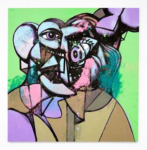 There's No Business Like No Business by George Condo contemporary artwork
