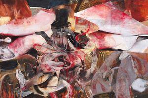 Mr Turner by Adrian Ghenie contemporary artwork