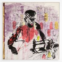 Tailor made by Gareth Nyandoro contemporary artwork painting, works on paper