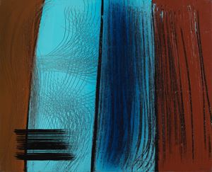 T1971-H50 by Hans Hartung contemporary artwork