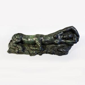 Centauresse endormie by Carlo Sarrabezolles contemporary artwork