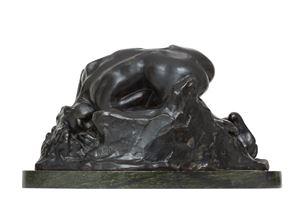 Danaïde, petit modèle, version type III by Auguste Rodin contemporary artwork