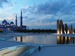 British artist Idris Khan creates United Arab Emirates' first war memorial
