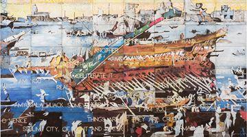 Contemporary art exhibition, Mikala Dwyer, Newell Harry, Kirtika Kain, Tracey Moffatt, Callum Morton, Jenny Watson, The Power of Language at Roslyn Oxley9 Gallery, Sydney