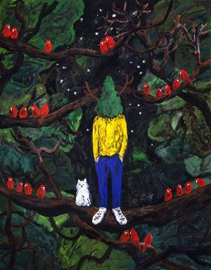Green Master 61 by Yuichi Hirako contemporary artwork