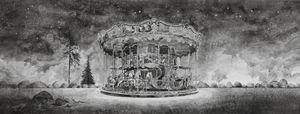 Dreamscape (merry-go-round) by Hans Op de Beeck contemporary artwork
