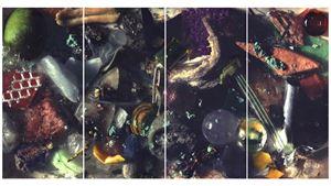 Natritine Gaze by Ran Zhang contemporary artwork