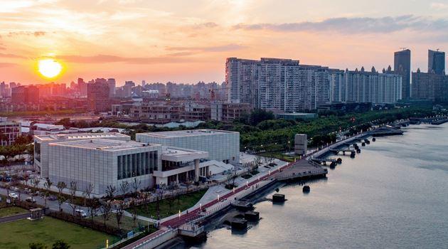 Centre Pompidou x West Bund Shanghai contemporary art institution in Shanghai, China
