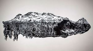 Iztaccíhuatl by Anette Kuhn contemporary artwork works on paper, drawing