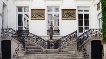 Perrotin contemporary art gallery in Paris, France