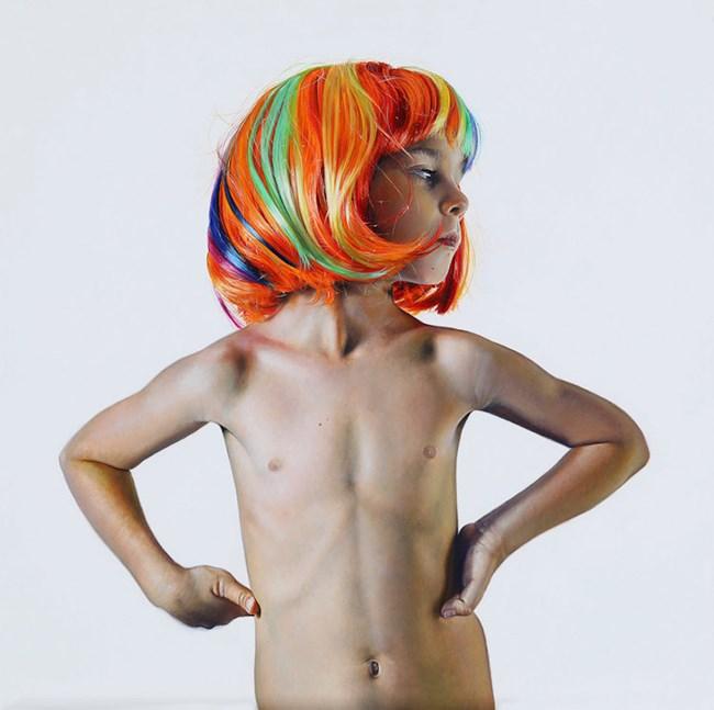 Leo is Six by Michael Zavros contemporary artwork