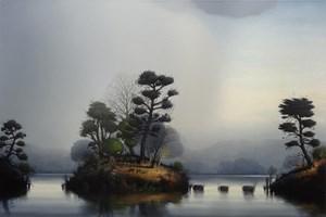 The Arbitrators Island by Alexander McKenzie contemporary artwork