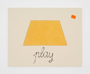 Untitled (play) by Luca Frei contemporary artwork