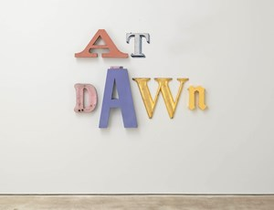 At Dawn by Jack Pierson contemporary artwork