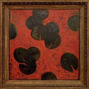 Black Waterlilies by Timur D'Vatz contemporary artwork