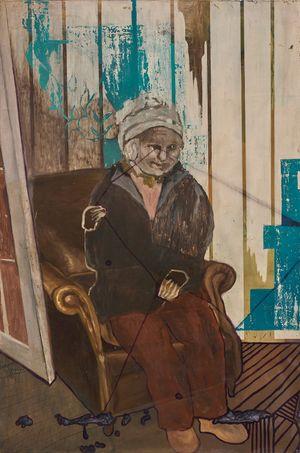 Old Age by Marina Cruz contemporary artwork