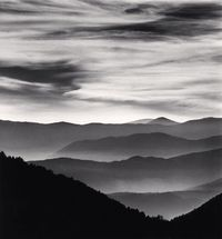 Distant Mountains by Michael Kenna contemporary artwork photography
