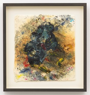 Space Flower #4 by Jack Whitten contemporary artwork