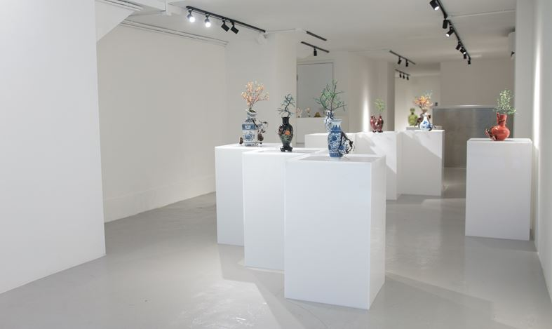 Exhibition view: Emeric Chantier, Organicum – Cultura – Imbibere, A2Z Art Gallery, Hong Kong (29 June–19 July 2019). CourtesyA2Z Art Gallery.