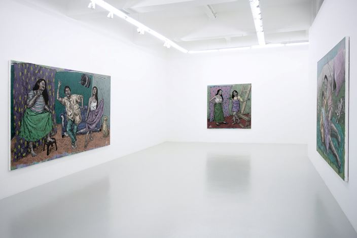 Exhibition view: Johanna Helmuth, One Thing After Another (15 February–9 March 2020). Courtesy Yavuz Gallery, Singapore.