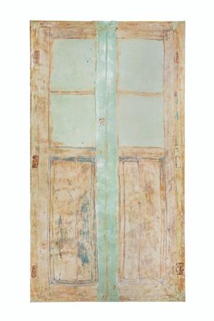 Door Lanzarote by Heidi Bucher contemporary artwork