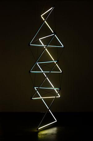 Sun Prism by James Clar contemporary artwork
