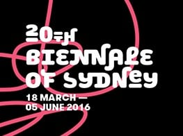 The 20th Biennale of Sydney