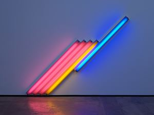 untitled (for Frederika and Ian) 3 by Dan Flavin contemporary artwork
