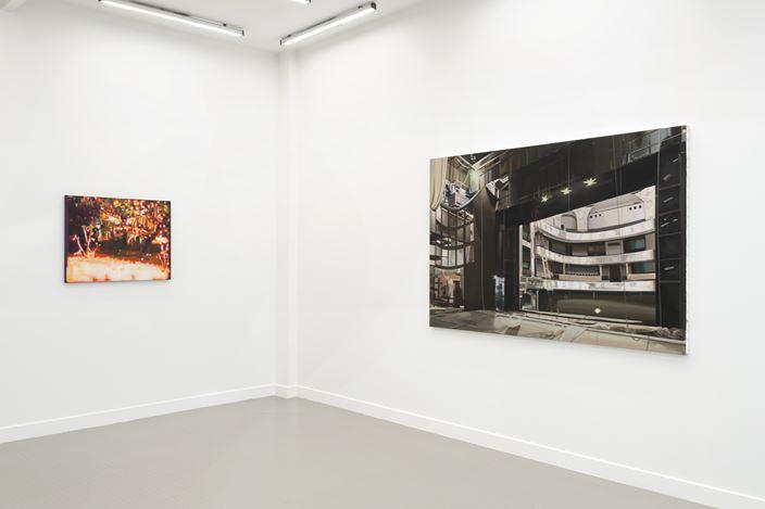 Exhibition view: Kristina Jansson, The Veil, Andréhn-Schiptjenko, Paris (25 June–1 August2020). CourtesyAndréhn-Schiptjenko, Paris.Photo: C Maignien.